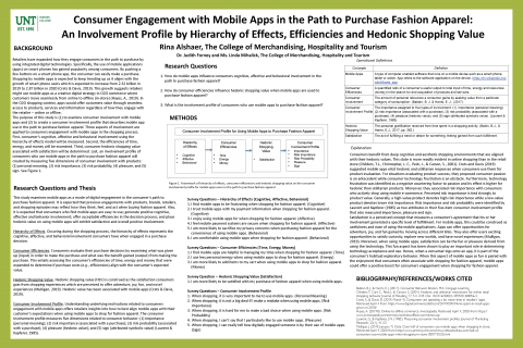Consumer Engagement with Mobile Apps in the Path to Purchase Fashion Apparel: An Involvement Profile by Hierarchy of Effects