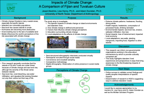 Impacts of Climate Change: A Comparison of Fijian and Tuvaluan Culture