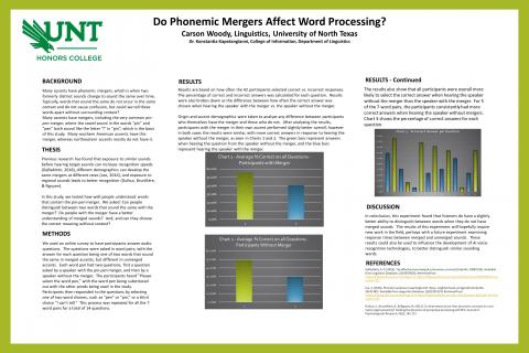 Do Phonemic Mergers Affect Word Processing?