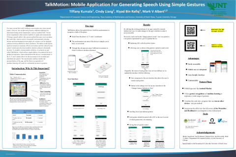 TalkMotion: Mobile Application For Generating Speech Using Simple Gestures