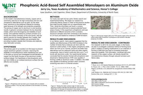 Phosphonic Acid-Based Self Assembled Monolayers on Aluminum Oxide