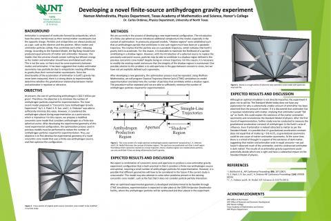 Developing a novel finite-source antihydrogen gravity experiment