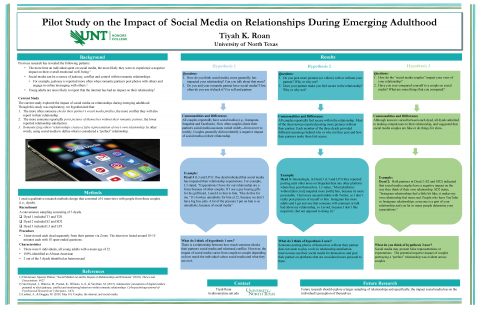 Pilot Study on the Impact of Social Media on Relationships During Emerging Adulthood