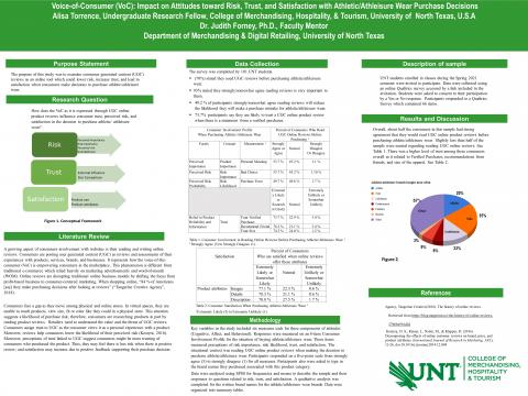 Impact of UGC Online Reviews on Risk, Trust, and Satisfaction on Athletic/Athleisure Wear Purchase D