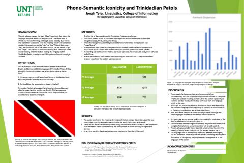 Phono-Semantic Iconicity and Trinidadian Patois
